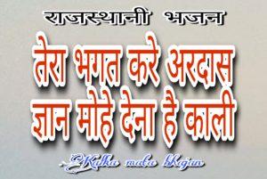 मैया तेरा भगत करे अरदास भजन लिरिक्स | Tera Bhagat Kare Ardasa bhajan lyrics